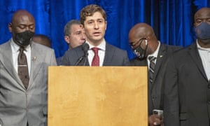 Minneapolis Mayor Jacob Frey speaks during a recent press conference after the Minneapolis City Council approve a 27 million dollar settlement with the Floyd family.