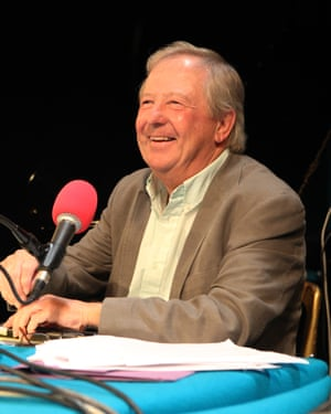 Tim Brooke Taylor recording I'm Sorry I Haven't a Clue.