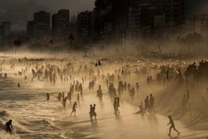 A Strange Day in Ipanema. Rio de Janeiro, Brazil