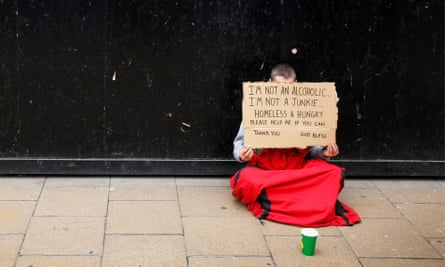 Many charities advise against handing cash to rough sleepers. If you'd prefer not to, you can offer food or drink instead – but ask what the person would actually like.