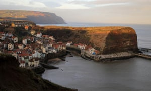 The seaside village of Staithes