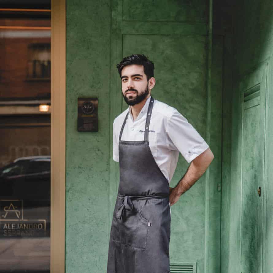 Alejandro Serrano, chef, Spain