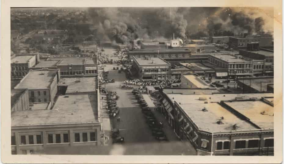 The Tulsa massacre is believed to be the first aerial assault on US soil.