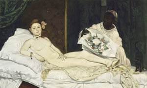 Olympia by Edouard Manet.