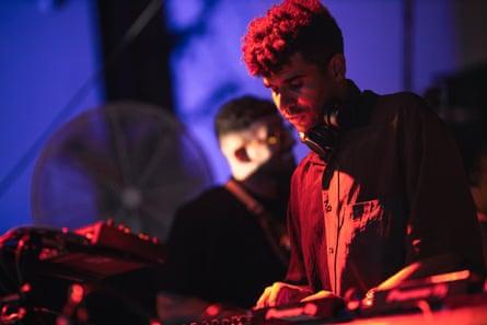 Jamie Jones performing at Get Lost.