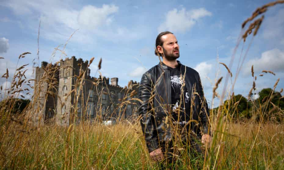 Randal Plunkett at Dunsany Castle. He turned from a steak-eating bodybuilder with no interest in land, to a vegan on an environmental mission.