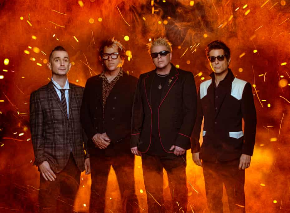 The Offspring in 2021.