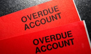 Seeing red over Green Star Energy overdue account that we can't pay.