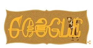 Google Doodle Adolph Sax