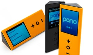 Neil Young's Pono portable music player.
