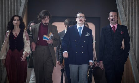 a scene from Ben Wheatley's High-Rise
