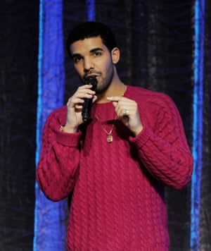 Drake in an 'ugly sweater' 2011.