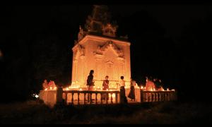 The tomb of the last queen of Burma, Supayalat, in Yangon, Myanmar