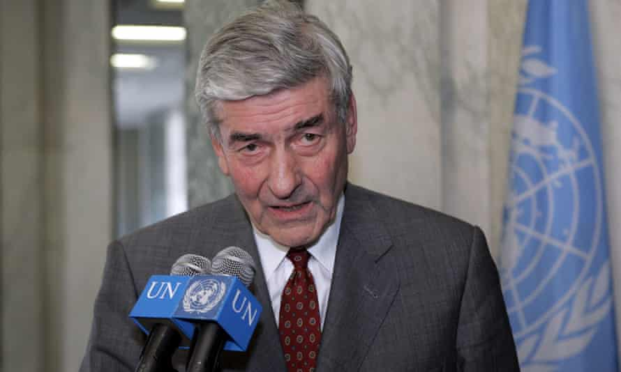 Ruud Lubbers in 2005.