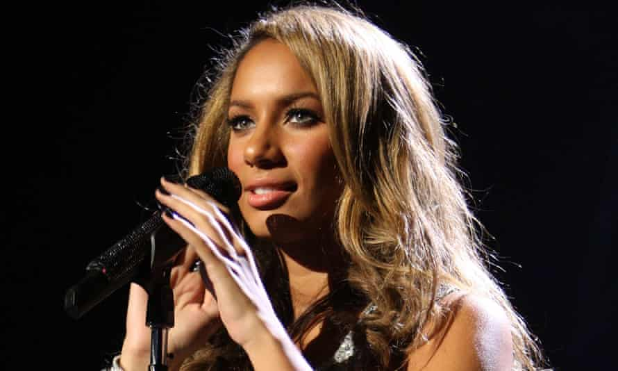 Leona Lewis performs in Las Vegas in 2008.