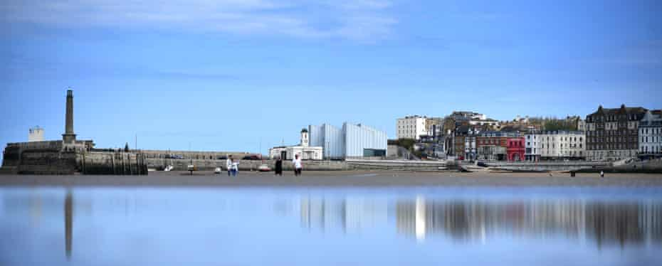 The Turner Contemporary gallery.