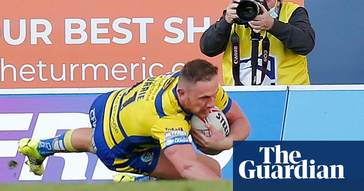 Ben Currie try decisive as Warrington defensive masterclass defies St Helens
