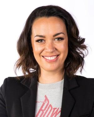 TV presenter Kanoa Lloyd uses te reo words on her primetime show.