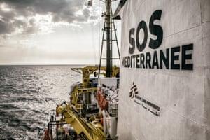 SOS Méditerranée has chartered the ship