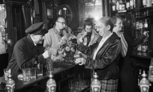Peace of the saloon bar of The Cricketers pub in Brighton, 1944.