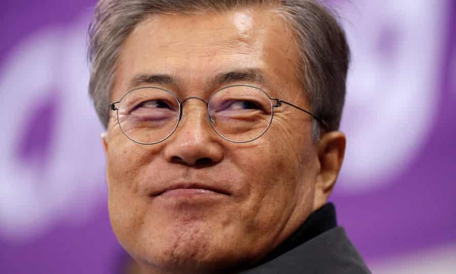 Moon Jae-in attends