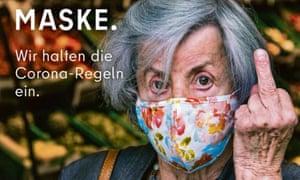 Berlin mask ad