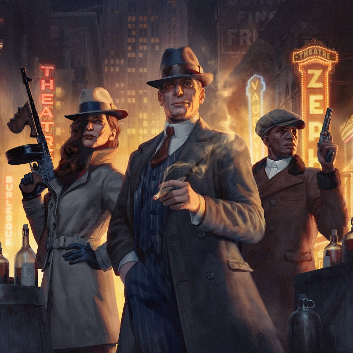 Empire Of Sin A Gangster Paradise Decades In The Making Games The Guardian