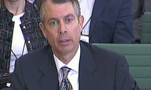 Google Inc vice-president Tom Hutchinson gives evidence to the public accounts committee