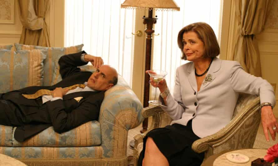 Toxic … with Jeffrey Tambor in Arrested Development.