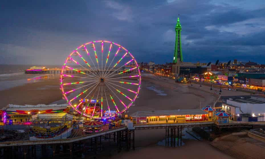 In 2020, the 140-year-old Blackpool illuminations went ahead despite the pandemic.