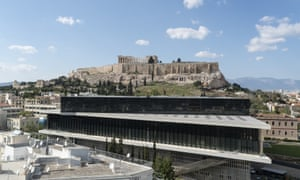 The New Acropolis Museum in Athens.
