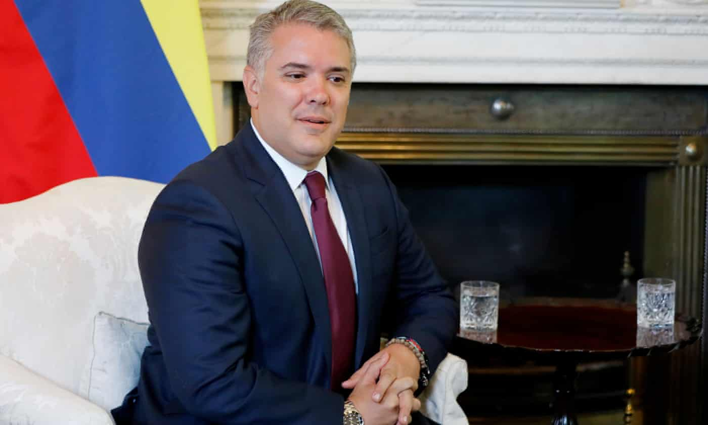 Colombia leader hits out at 'hypocrisy' of middle-class cocaine users