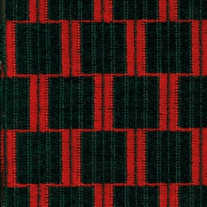 A 1938 tube train seat fabric design