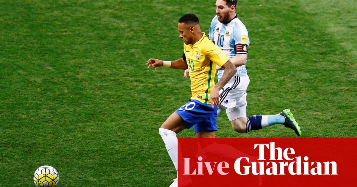 a87921781a6 Brazil 3-0 Argentina  World Cup 2018 qualifier - as it happened ...