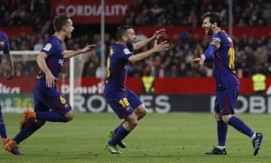 Lionel Messi once again came to Barcelona's rescue as they kept their unbeaten run alive.