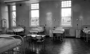 The ward where Janet Parker was nursed at Catherine-de-Barnes isolation hospital.