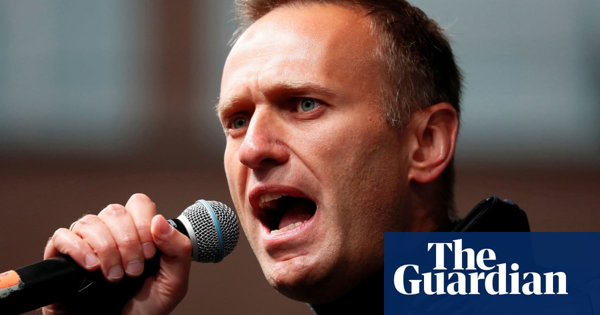 Alexei Navalny calls for tougher action on global corruption