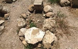 Grave at Omariyah cemetary