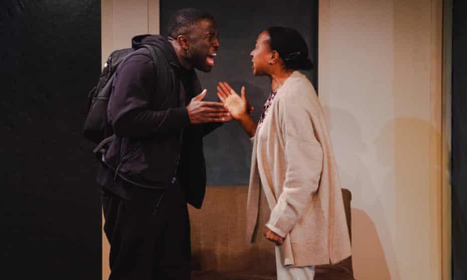 Michael Fatogun and Doreene Blackstock in Foxes