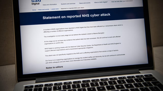 NHS seeks to recover from global cyber-attack as security concerns ...