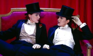 Tipping The Velvet, Sarah Waters's novel, is set in England in the 1890s. The BBC series starred Keeley Hawes (left) and Rachel Stirling.