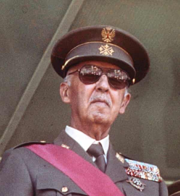 General Franco in 1975