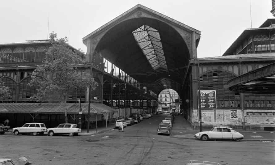 Les Halles before demolition in the 1970s.