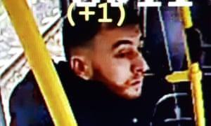 Utrecht Police release image of suspect in tram shooting