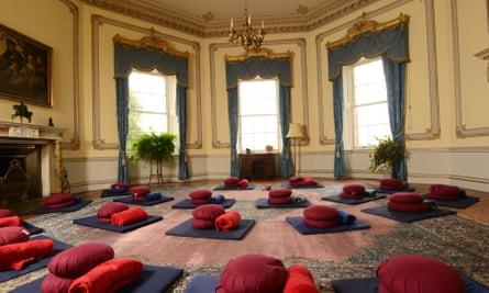 Meditation in the Octagonal Room - Sharpham House