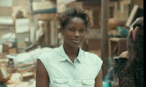 Mame Bineta Sane in Mati Diop's Atlantics.
