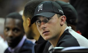 Johnny Manziel is currently without a team in the NFL