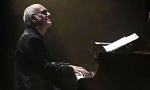 Lifeless … Ludovico Einaudi at the Barbican.