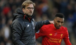 Jürgen Klopp cannot guarantee Daniel Sturridge more game time if he does not go out on loan
