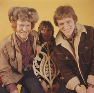 Cream posing at Fleet Studios in London in 1966. Left to right: drummer Ginger Baker, guitarist Eric Clapton and bassist Jack Bruce.